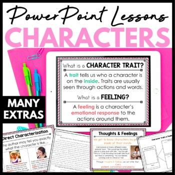 Character Traits and Character Feelings