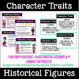 Character Traits and Historical Figures Anchor Charts