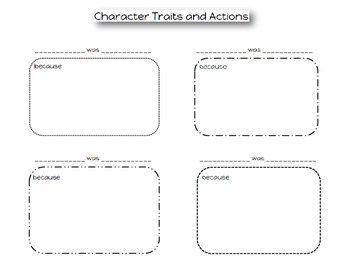 Character Traits and Motives