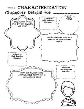 Character Traits and Point of View PACK