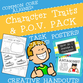 Character Traits and Point of View PACK #tistheseason20offday