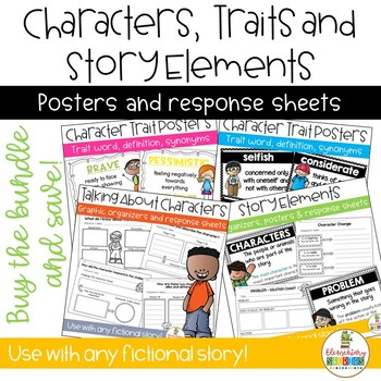 Character Traits and Story Elements Bundle