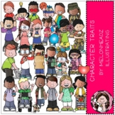 Character Traits clip art - COMBO PACK - by Melonheadz