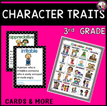 Character Traits for 3rd Grade!
