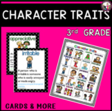 Character Trait List for 3rd Grade