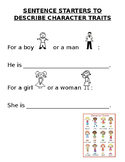Character Traits for ESL Students