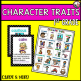 Character Traits for 1st Graders!!!
