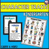 Character Traits for Kindergarten!