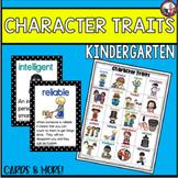 Character Trait List for Kindergarten