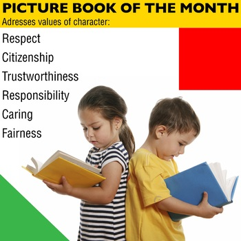 Character Traits for Picture Book of the Month