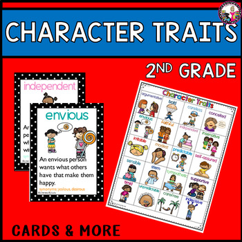 2nd grade character traits character trait list for nd graders