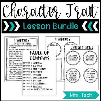 Character Traits & iPads