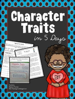 Character Traits in 5 Days