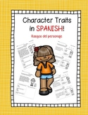 Character Traits in Spanish!
