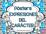 Character Traits Posters in Spanish