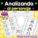 Character Traits in Spanish - Analizando al personaje