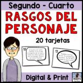 Character Traits in Spanish -  Rasgos del personaje - Inferencias