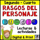 Character Traits in Spanish  Super Bundle - Rasgos del personaje