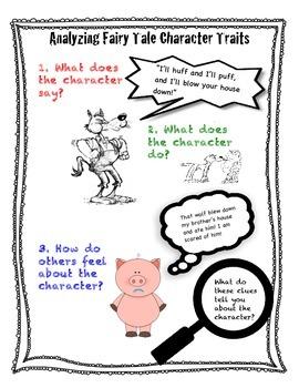 Character Traits mini-lesson