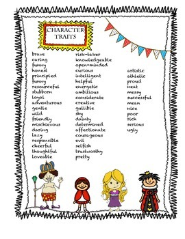 Character Traits mini-lesson