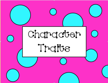 Character Traits of Friends