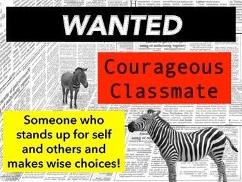 Character Traits that are Noteworthy News!