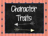 Character Traits (tribal theme)