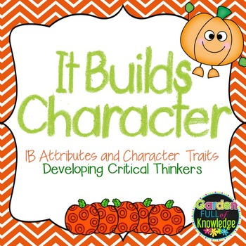 Character Traits using IB Learner Profile Attributes with Pumpkins