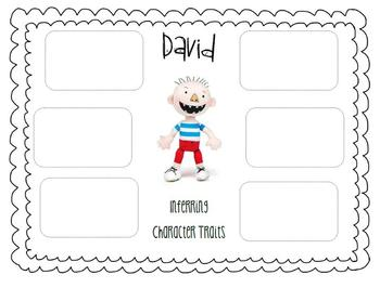 Character Traits using No David! books