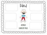Character Traits using No David! books