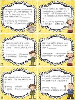 Character Traits (Fairy Tales)