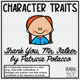 Character Traits with Thank You, Mr. Falker