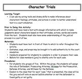 Character Trials