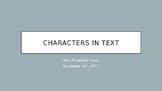 Character Types: Flat vs. Round & Static vs. Dynamic