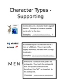 Character Types - Supporting Roles