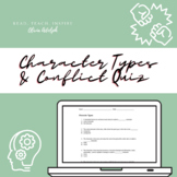 Character Types and Conflict Quiz