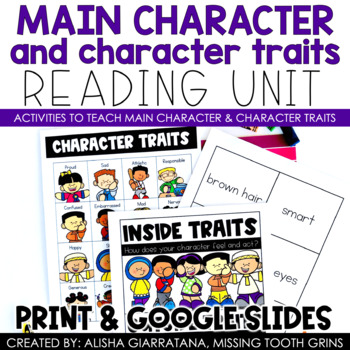 Main Character and Character Traits