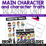 Main Character and Character Traits