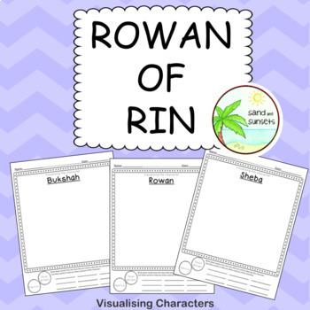 Character Visualising Activity (Rowan of Rin).