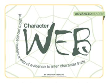 Character Web: Advanced Readers