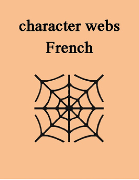 Character Web FRENCH
