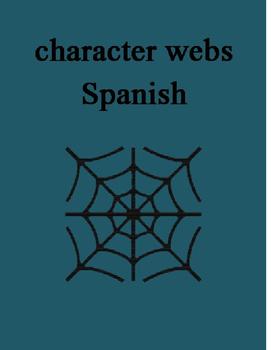 Character Web SPANISH