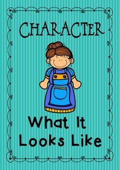 Character - What It Looks Like { freebie }