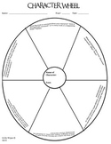 Character Wheel Graphic Organizer for Close Reading
