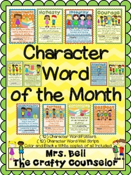 Character Word of The Month