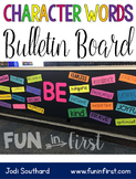 Character Words Bulletin Board