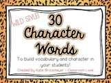Character Words {Wild Style}