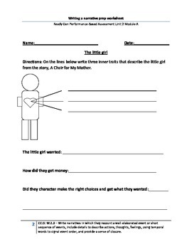 Character Worksheet