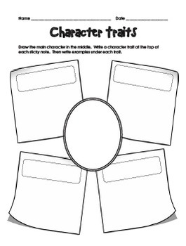character worksheets by teachplanlove teachers pay teachers. Black Bedroom Furniture Sets. Home Design Ideas