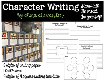 Character Writing - Growth Minset
